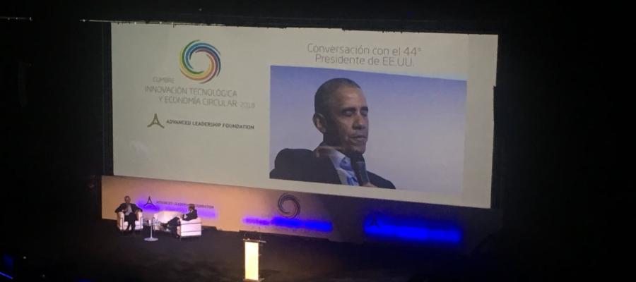 I Cumbre de Innovación Tecnológica y de Economía Circular con la participación de Obama